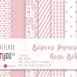BASICOS IMPRESCINDIBLES ROSA BEBE